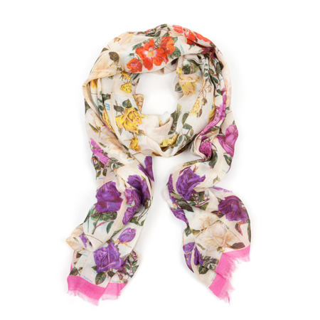ted baker - silk scarf - roses - christmas gift ideas - for mum - handbag.com