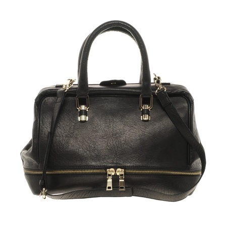 asos doctors handbag - fearne cotton black handbag - celebrity style - shop the look - handbag.com