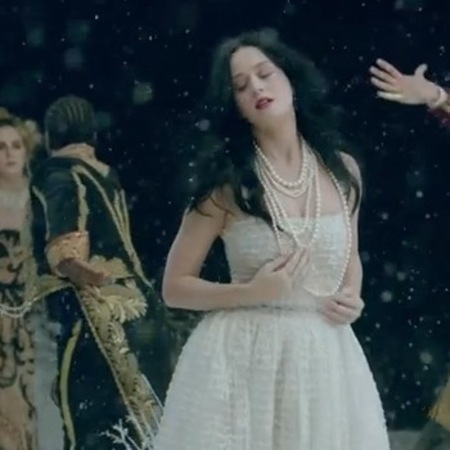 Katy Perry wears Chanel in new music video - Unconditionally latest single - Dolce and Gabbana - Chanel - demure dress - handbag.com