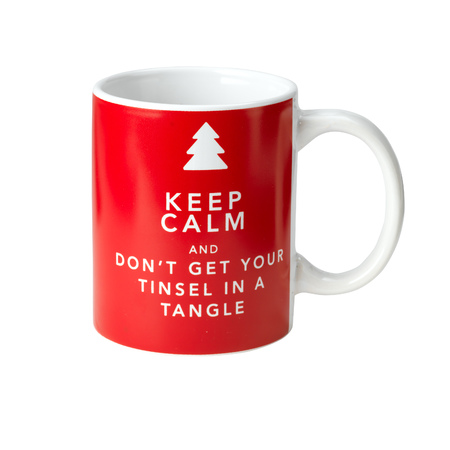 Poundland Keep Calm Christmas Mug