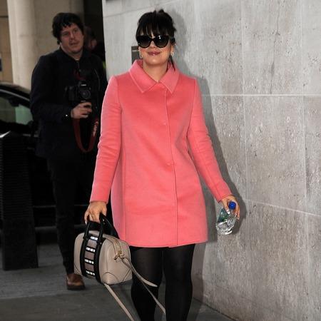 Lily Allen - radio 1 - givenchy handbag - handbag.ocm