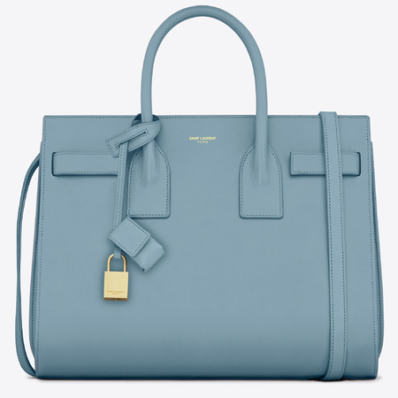 Saint Laurent Sac De Jour, Light Blue