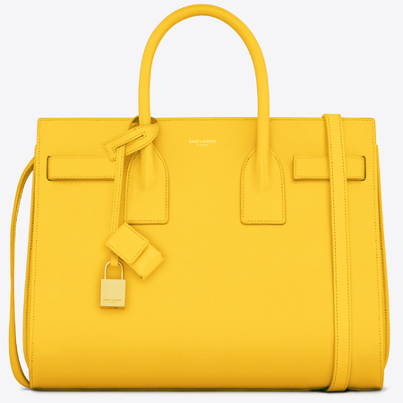 Saint Laurent Sac De Jour, Yellow