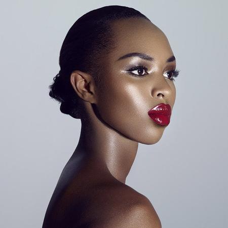 the face uk - elaine red lipstick max factor shoot - the face uk 2013 - handbag.com