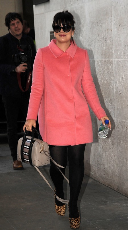 Lily Allen and her Givenchy Lucrezia bag
