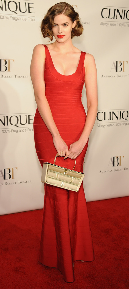 Robyn Lawley - red dress - models with curves - plus size models - handbag.com