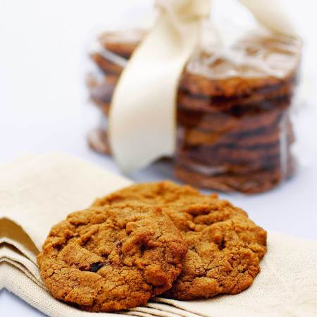 Spiced rum cookies recipe - Christmas hamper recipes - Christmas recipes - baking - handbag.com