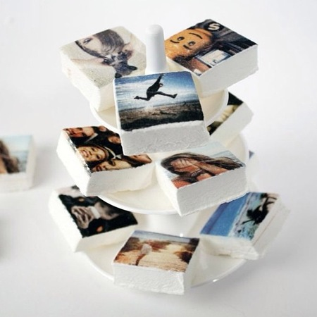 Instagram marshmallows of your photos - new food products - food news - handbag.com