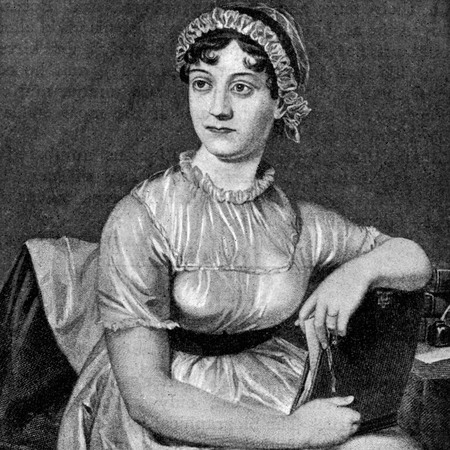 jane austen portrait - famous writer and author - handbag.com