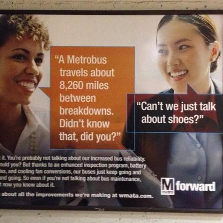D.C. Metro sexist poster - life and travel news - handbag.com