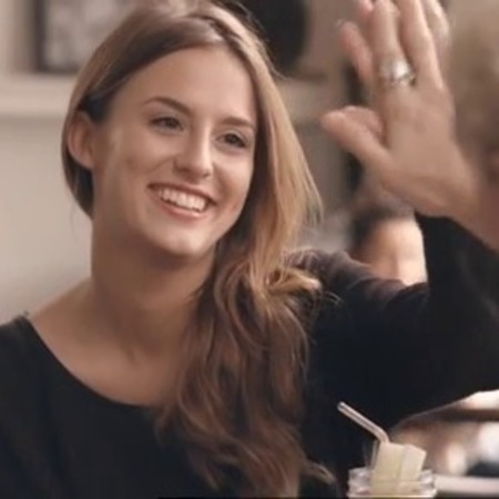 made in chelsea - series 6 - lucy watson high five - stevie - girlfriend - handbag.com