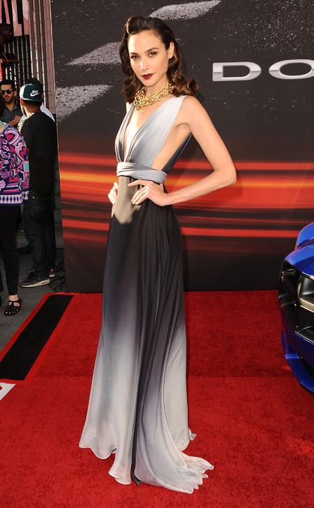 gal gadot - fast and furious 6 premiere - wonder woman casting - too skinny - thin - handbag.com