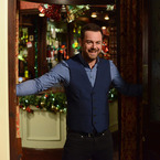 First look at Danny Dyer's Christmas arrival