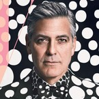 George Clooney, are you wearing guyliner?