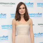Keira Knightley layers up her wedding dress
