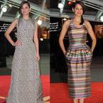 Marion Cotillard vs. Jennifer Lawrence in double Dior