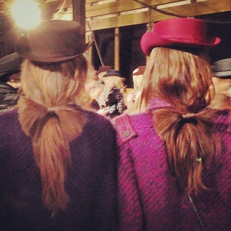 bow ponytail hairstyles by sam mcknight - Chanel Dallas show - Metiers d'Art pre fall 2014 - handbag.com