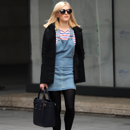 Fearne Cotton - spotted with aspinal of london - marylebone totes - celebrity sightings - handbag.com