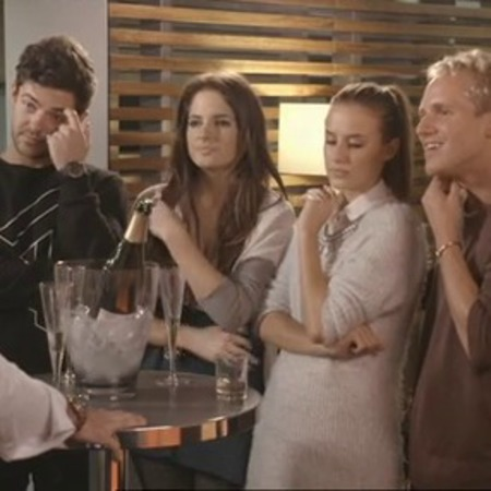 made in chelsea series 6 - alex binky lucy and jamie - airport - awkward - africa episode - breaks jamies heart - handbag.com