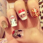 Awesome Christmas nail art ideas