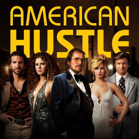 American Hustle movie poster - Amy Adams and Jennifer Lawrence on-screen kiss - handbagcom