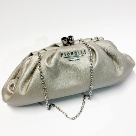 fiorelli silver Juliet clutch bag - party clutch bag - handbag.com