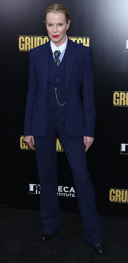 Masculine Fashion Trend Kim Basinger