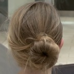 The perfect party updo for long hair?