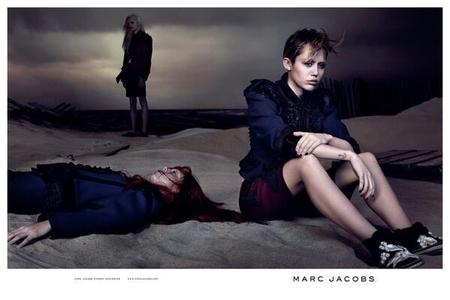 Miley Cyrus - marc jacobs international - MJ SS14 - campaign shot - david sims - celebrity fashion advertising campaigns - actually looks good amazing - handbag.jpg