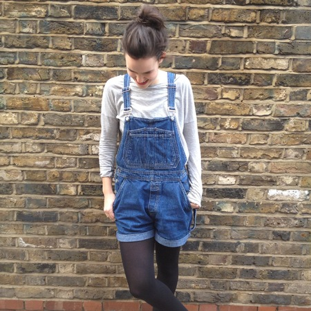 fashion fix - how to wear dungarees - how to sew a turn up hem - handbag.com