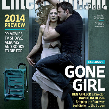 Ben Affleck keeps his socks on to snuggle Rosamund pike - Gone Girl film picture - Entertainment Weekly - socks in bed debate - new film release - celebrity news - handbag.com