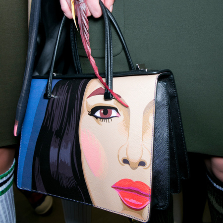 Prada face mural tote bag for ss14 - best designer handbags for spring summer 2014 - womans face printed handbag.jpg