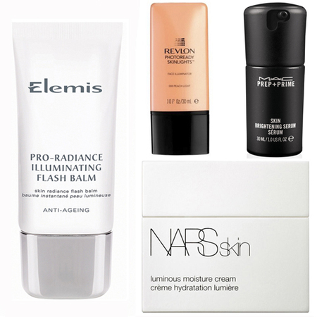 skin brightening products - illuminating face creams and highlighters - handbag.com