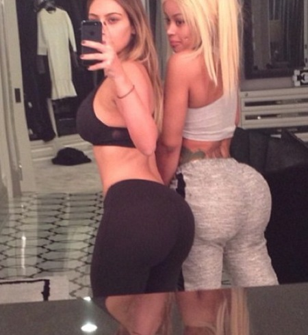 Kim Kardashian and her bum selfie