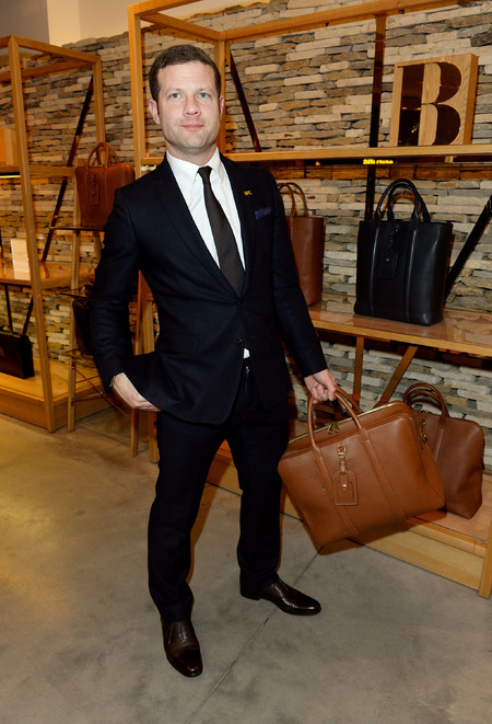 Dermot o'leary - mulberry - london collections men - man bag - handbag.com