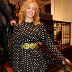 Kylie Minogue embraces 60s style