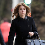 Millie Mackintosh does all black winter chic