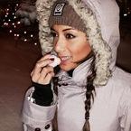 #HandbagHero Nicole Scherzinger's EOS lip balm
