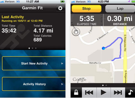 Garmin Fit paid for diet, running and fitness app - gadget news - life - handbag.com