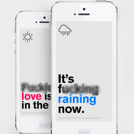 Authentic weather app - smartphone apps that wont lie to you - gadget news - handbag.com