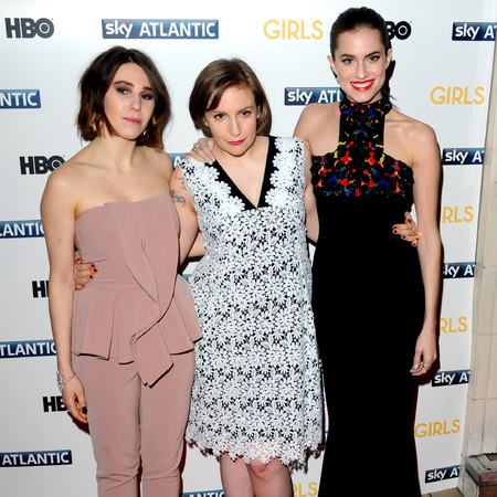 Lena Dunham - Allison Williams - Zosia Mamet - Girls season 3 uk premiere - dancing - victoria beckham - jamie dornan - handbag.com