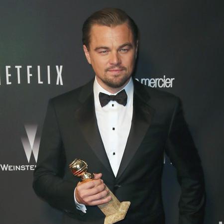 Leonardo DiCaprio - golden globe - oscar win - wolf of wall street - handbag.com