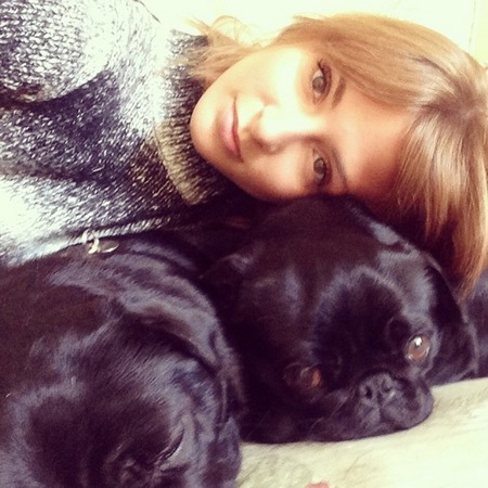 Millie Mackintosh's pug dogs