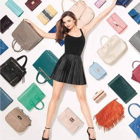 miranda kerr the new face of shopstyle - miranda kerr handbags - celebrity handbags - handbag.com