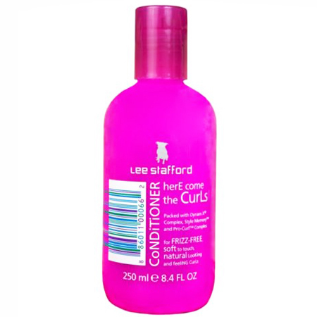 best conditioner for frizzy curly hair - lee stafford here come the curls condiotner - tame smooth curly wavy hair - handbag.com