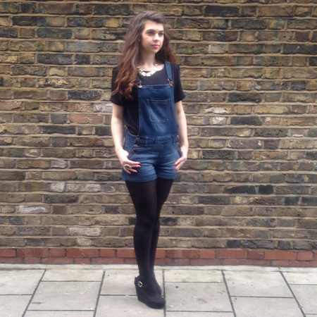 fashion fix - how to wear - tricky trends - difficult trends - three ways to wear dungarees - glam - amy - handbag.com