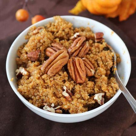 Pecan and pumpkin quinoa porridge recipes - the best quinoa recipes - handbagcom
