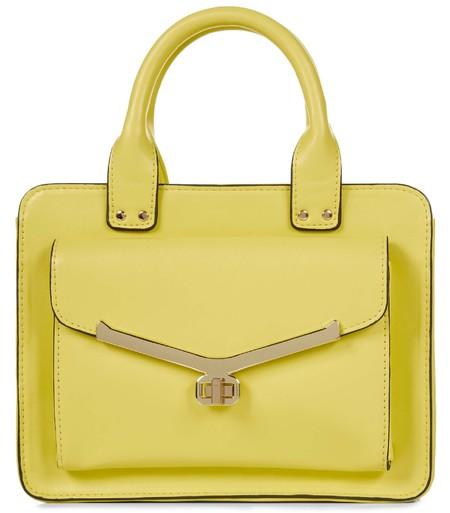 ladylike yellow purse handbag - primark spring summer 2014 - highstreet handbag trends - handbag.com