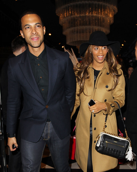 marvin and rochelle humes - lanvin handbag - black bag - before the voice - handbag.com