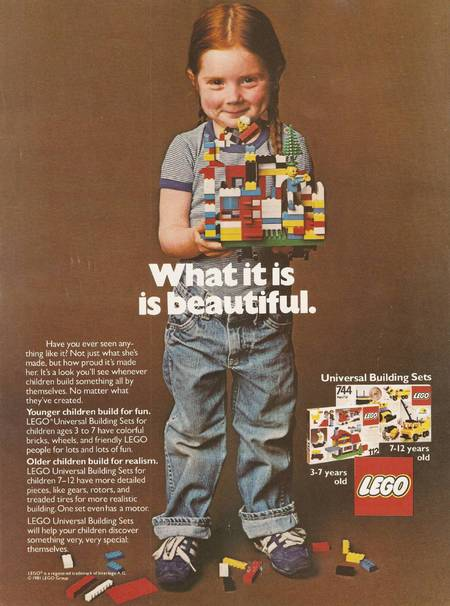 LEGO advert for children 1980s - the most sexist adverts made in 2013 - life news - handbagcom